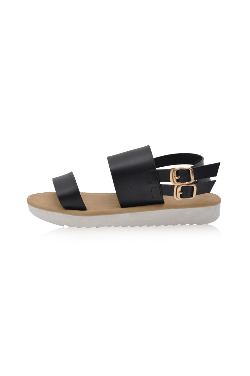Bianca Sandals in Black
