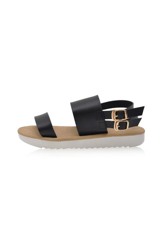 Dyna Sandals in Black