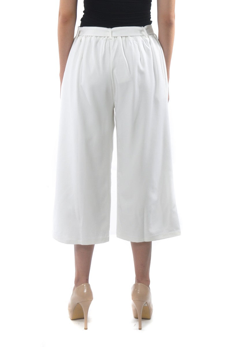 Riley Culottes in White