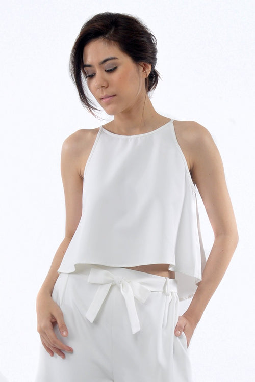 Riley Top in White