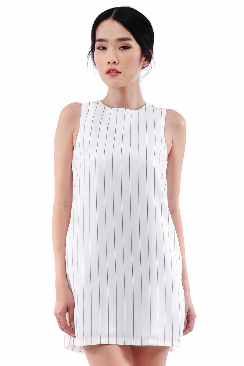 Claren Dress in White