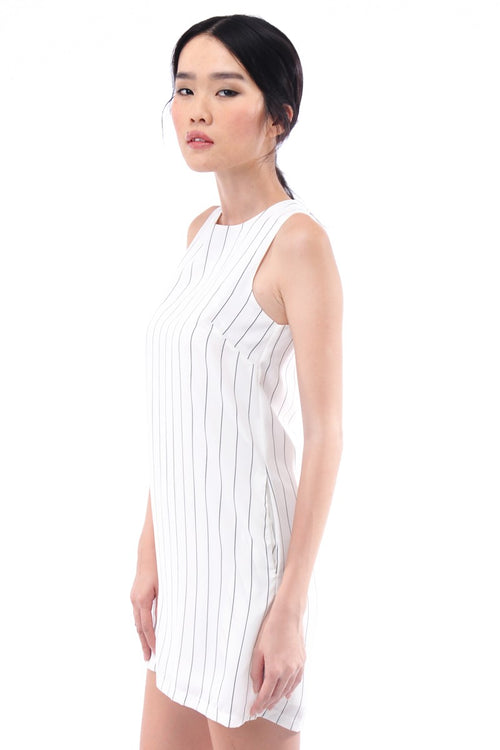 Claren Dress in White (Reject)