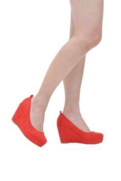 Ralph Wedges in Red