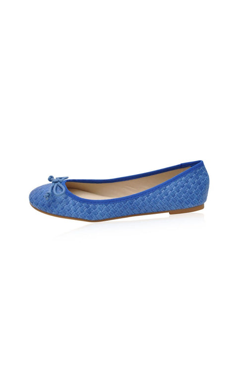 Victoria Flats in Blue