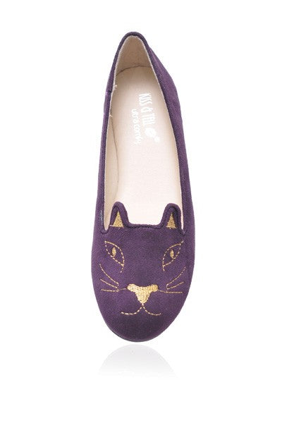 Kitty Flats in Purple