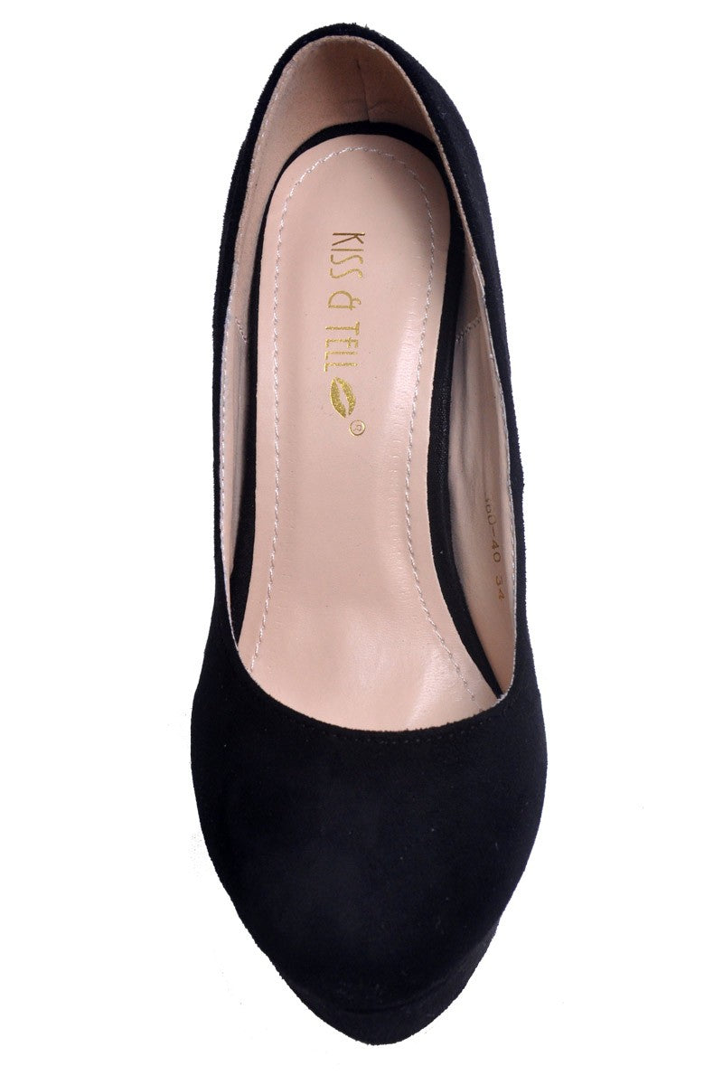 Edith Pumps in Black