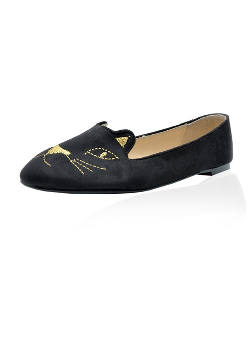 Kitty Flats in Black