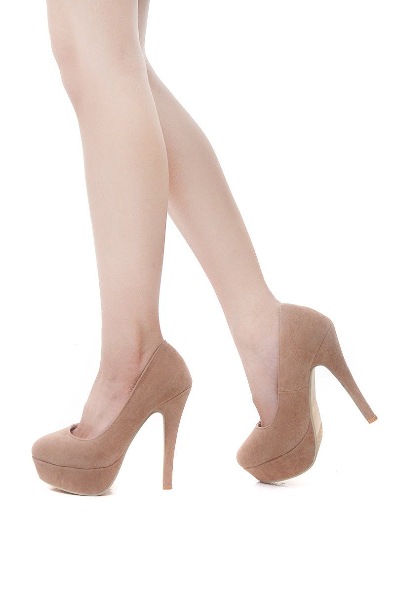 Edith Pumps in Nude