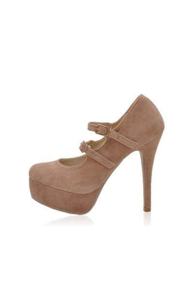 Ashleigh Pumps in Cappuccino Nude