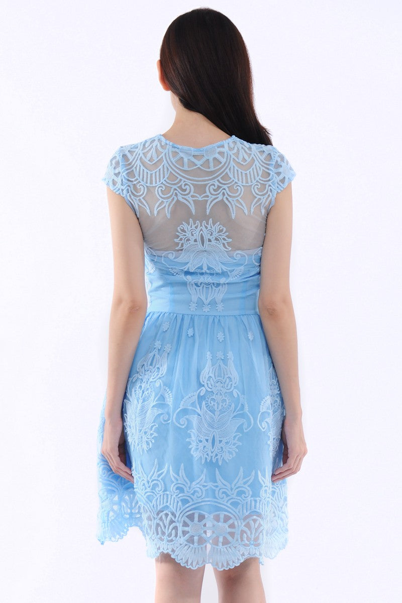 Cinderella Dress in Blue