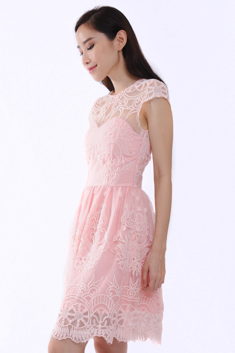 Cinderella Dress in Pink