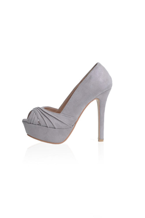 Lexie Heels in Grey