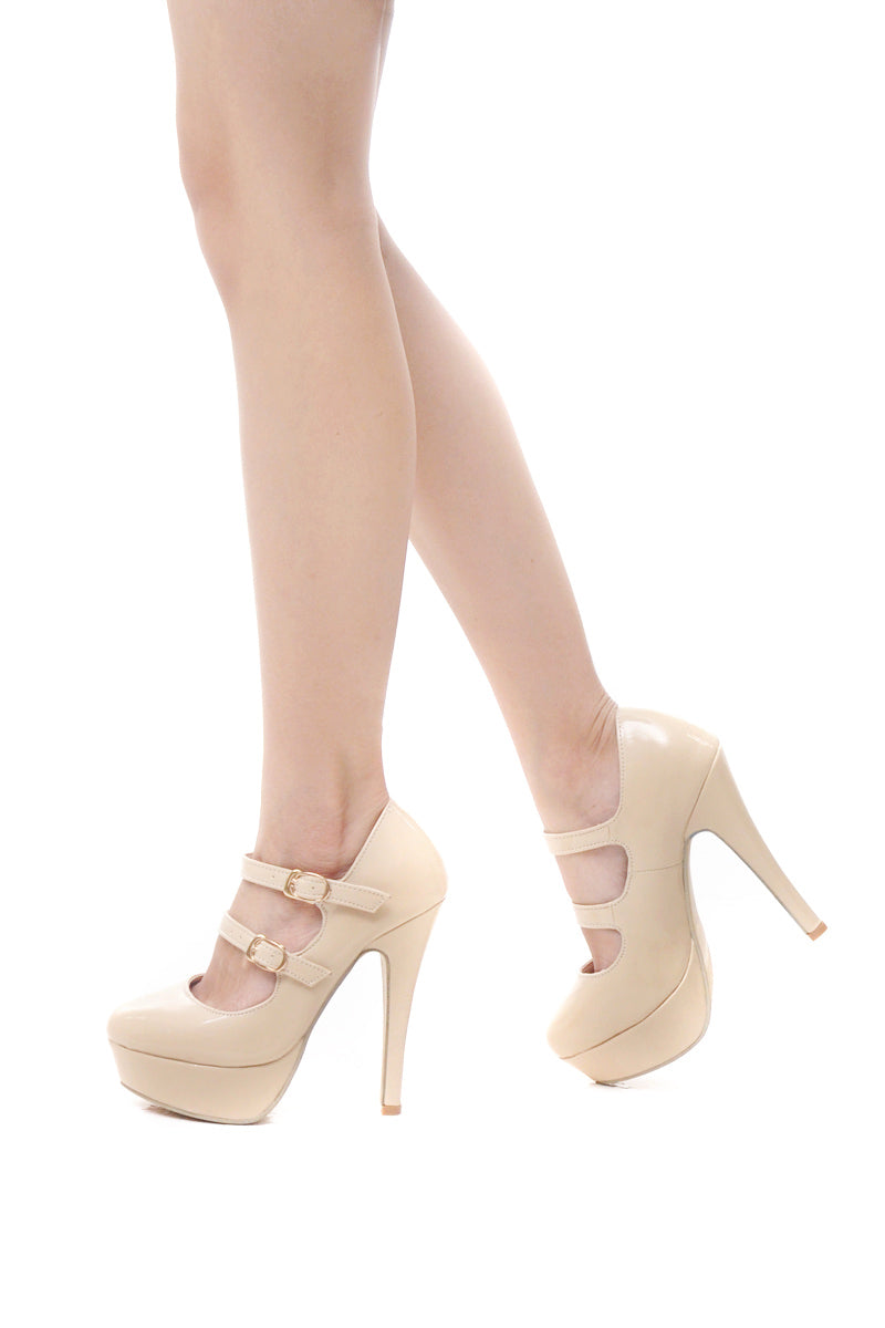 Ashleigh Pumps 3.0 in Nude