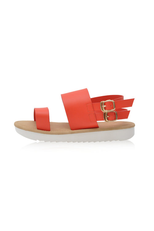 Bianca Sandals in Orange