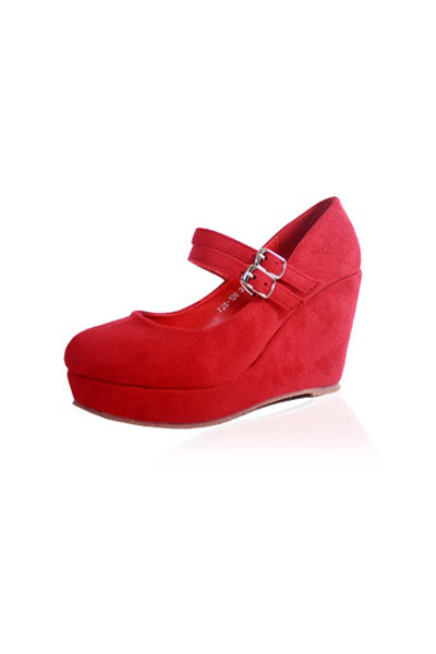 Ashleigh Wedges in Wine
