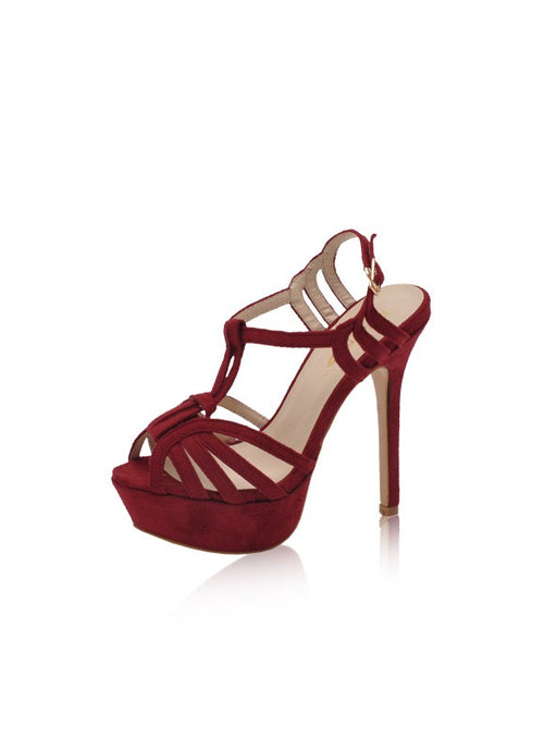 Harmony Heels in Wine