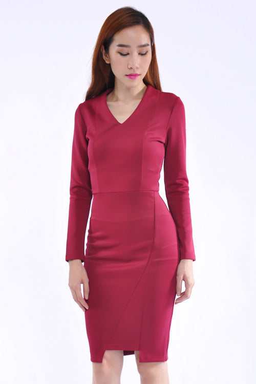 Alexandra Dress in Purple