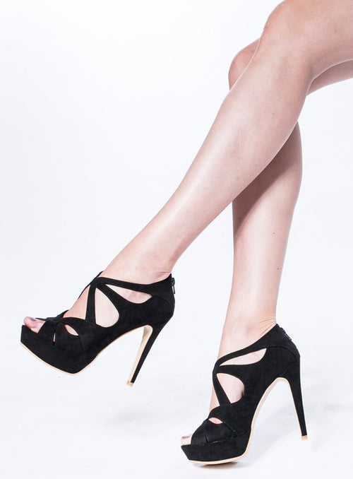 Hayley heels in Black