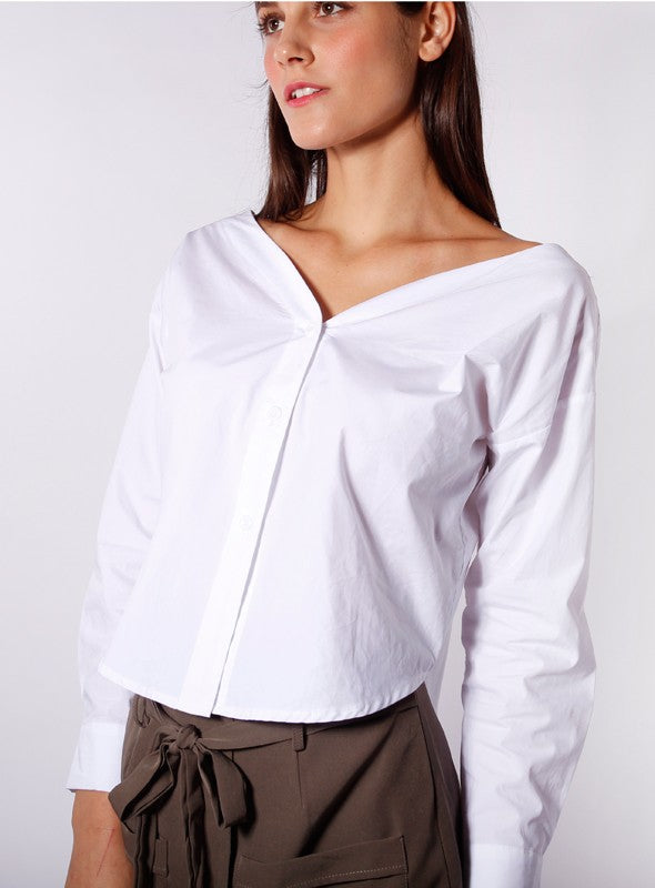 Daphne Blouse in White