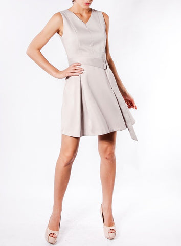 Eloise Dress in Lilac Grey