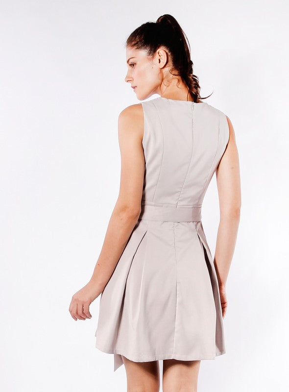 Bernice Dress in Grey