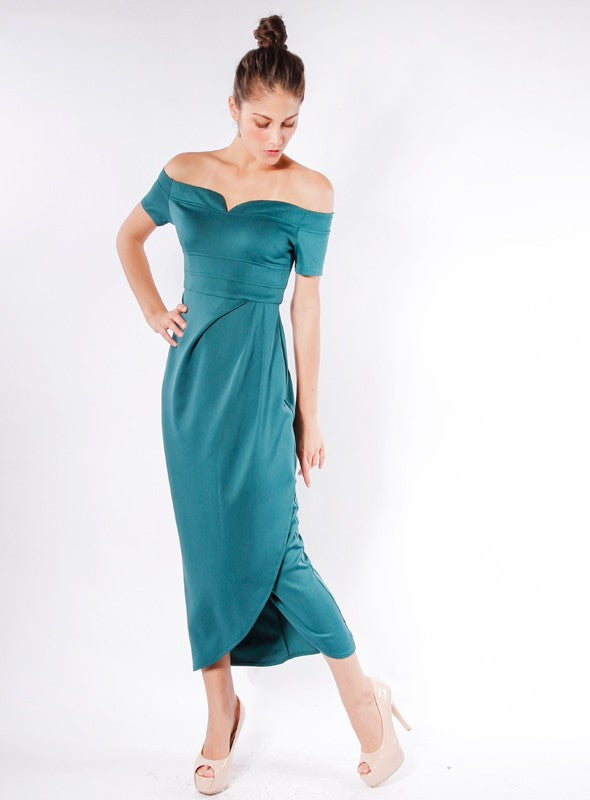 Lush Dress in Teal