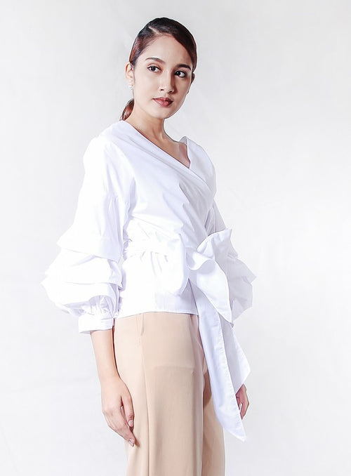 Victoria Blouse in White