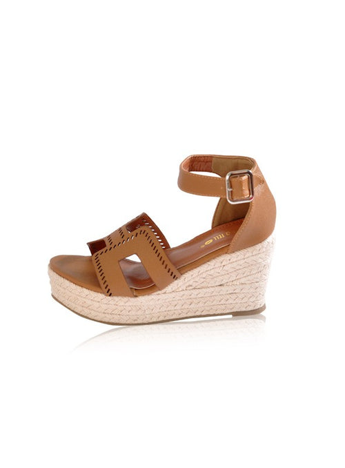 Harley Wedges in Brown