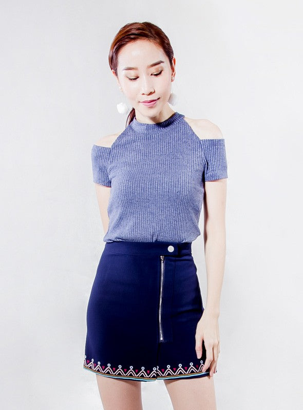Rachel Top in Blue