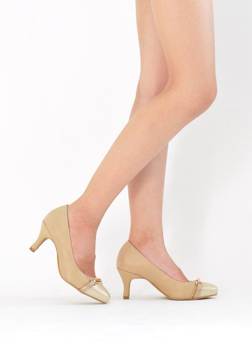 Hazel Pumps in Nude