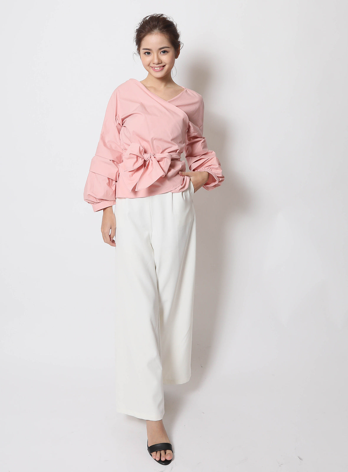 Adanya Blouse in Blush