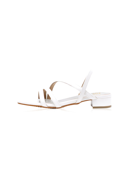 Alicia Sandals in White
