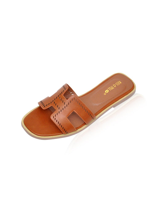 Allison Flats in Brown [Size 35,36,37,40]