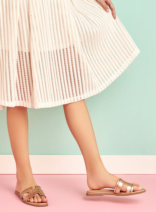 [Backorder] Allison Flats in Rose Gold
