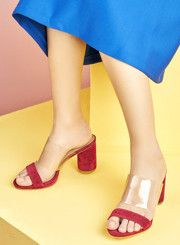 Prosperity Heels in Red