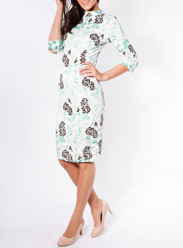 Aubrey Dress in Mint