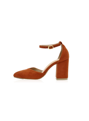 Grace Heels in Brown