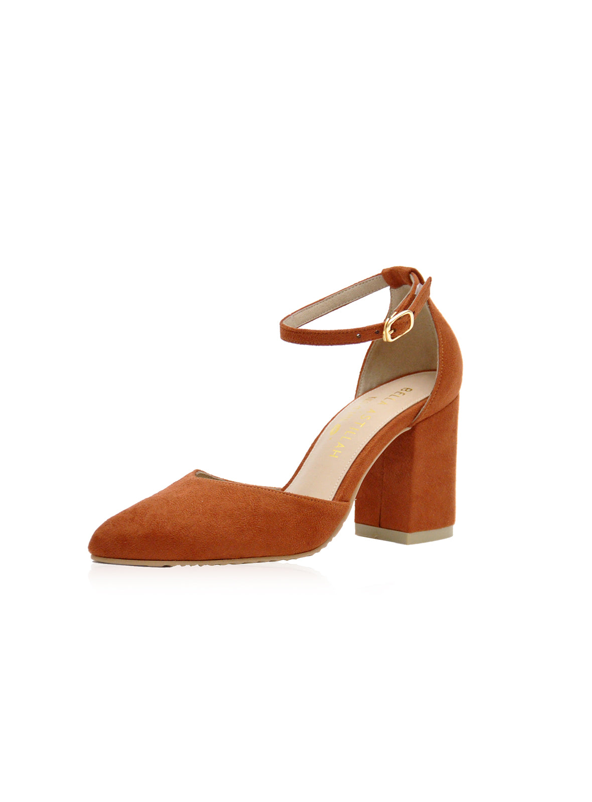 Belle Heels in Brown