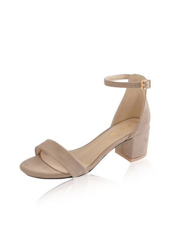 Jenna Heels in Tan