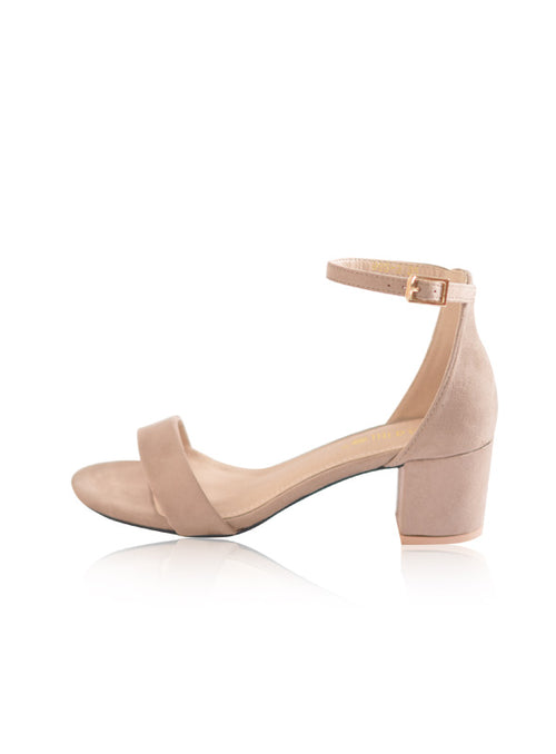 Beverly Heels in Nude