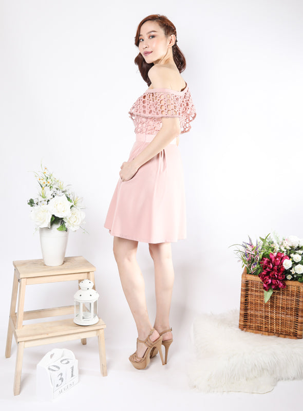 Kaisa Dress in Blush