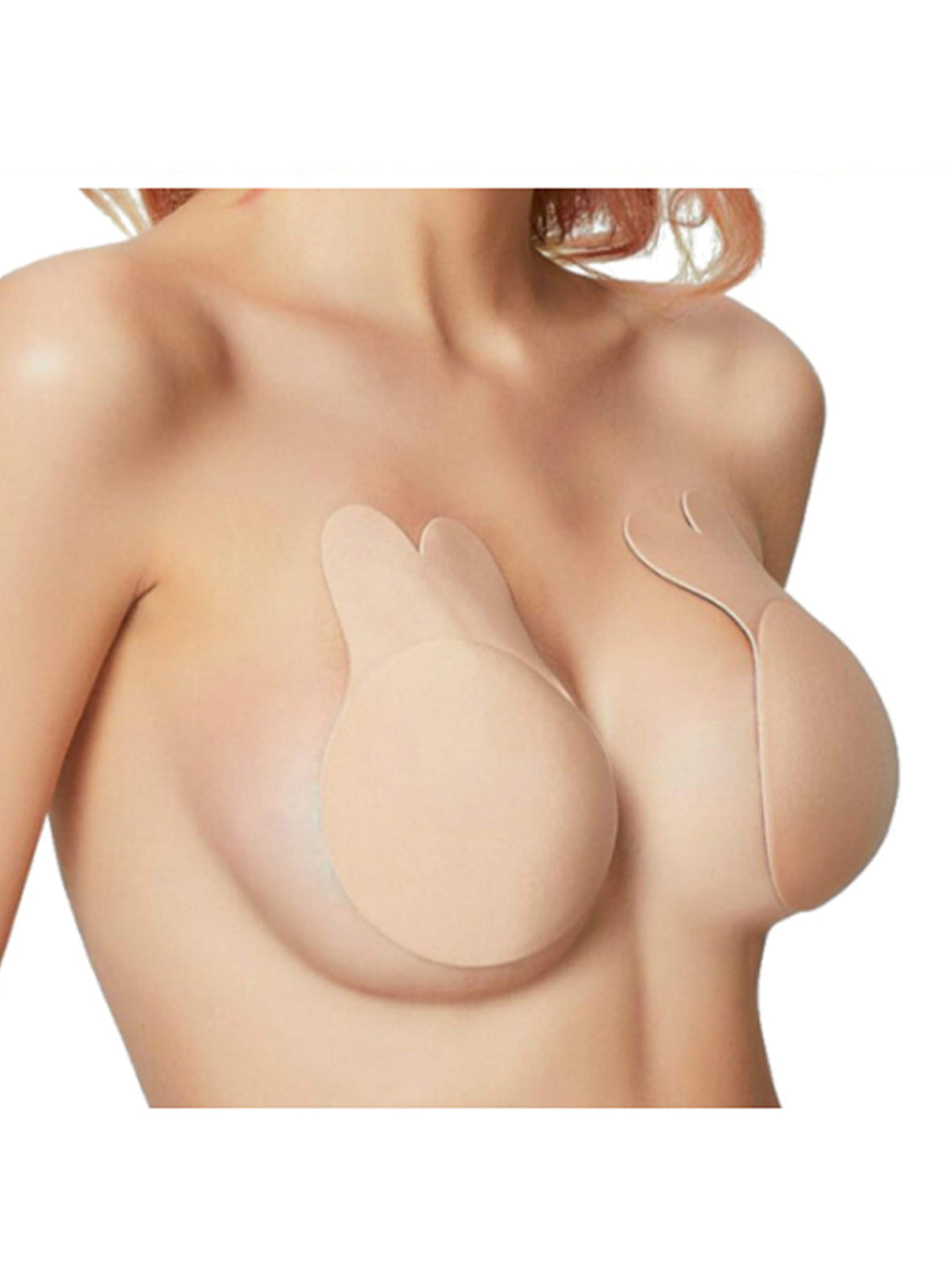 Breast Lift Up Bra in Nude