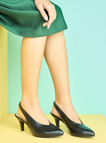 Allison Flats in Black