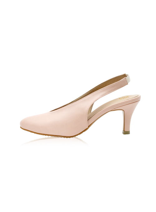 Callie Heels in Blush
