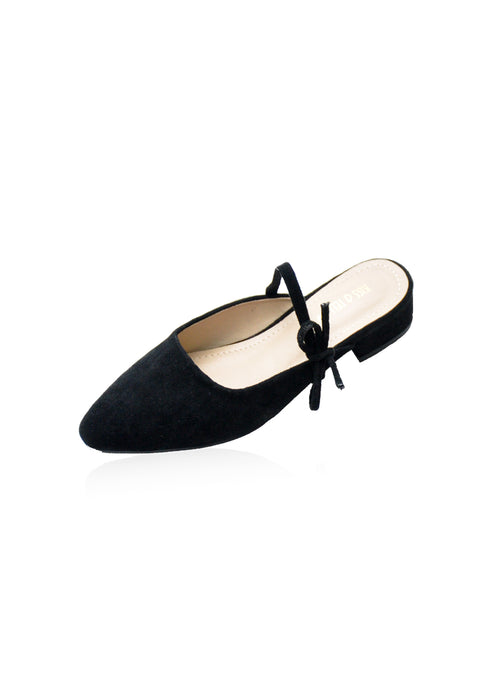 Caroline Mules in Black