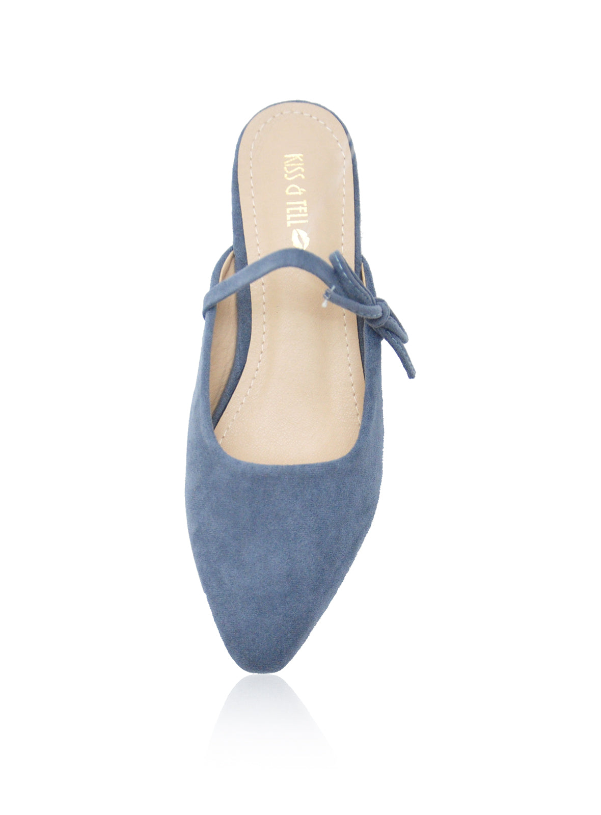 Caroline Mules in Blue