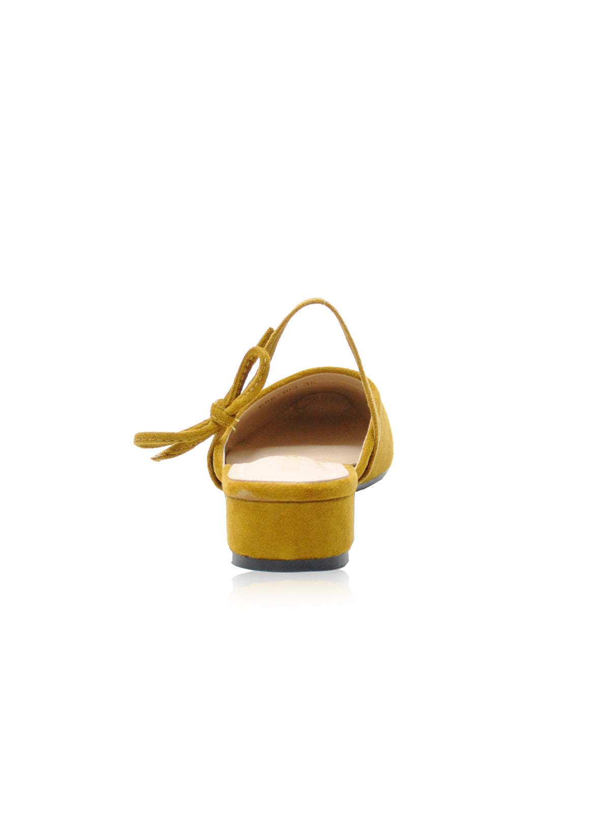 Caroline Mules in Mustard Yellow