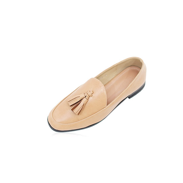 Cassie Loafer in Nude