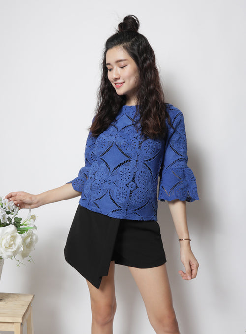 Celeste Top in Blue