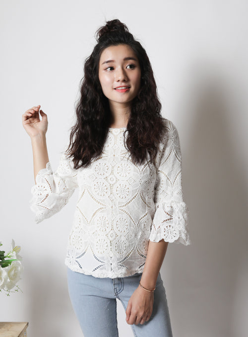 Celeste Top in White